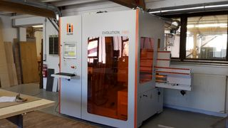 HOLZHER reference CNC complete machining