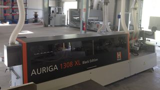 Satisfied HOLZ-HER customer with Auriga 1308XL Black Edition edgebander