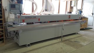 Satisfied HOLZ-HER customer - Riess Carpentry Shop in Villingen - Auriga 1308XL edgebander
