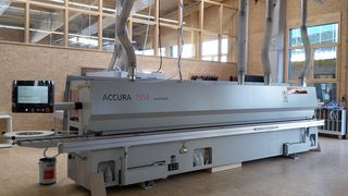 Experience with HOLZHER ACCURA edgebander