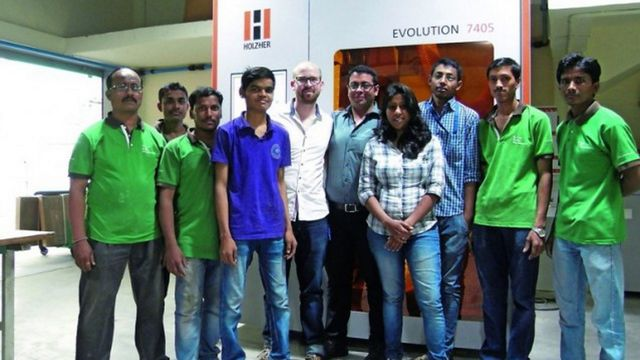 References Holzher - experience in India with CNC and edgebanders