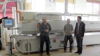 Positive experience/references with machines from HOLZ-HER: many years of using HOLZ-HER machines