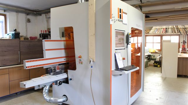 Reference Holzher machine Evolution 7405 CNC