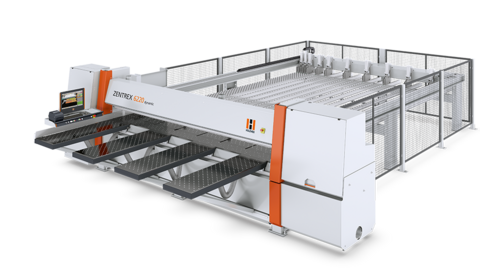 HOLZ-HER pressure beam saw ZENTREX: high quality and top performance