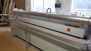 Schairer Carpentry Shop, customer experience with HOLZHER CNC