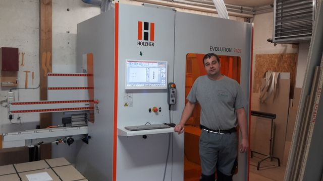 Schairer Carpentry Shop as HOLZHER reference