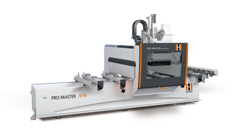 Overall view of HOLZ-HER PRO-MASTER 7018 premium