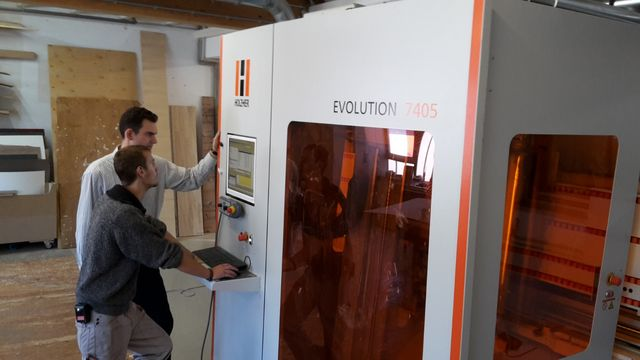 Experience with HOLZHER EVOLUTION 7405 at Klapper Carpentry Shop