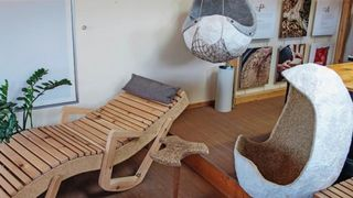 Reference customer, Mähr Cabinetmaking Shop in Austria - vertical CNC machining center 7405 - CNC machining with extremely limited space