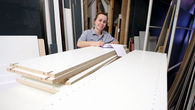 Tischlerei Wendt is very satisfied with the EVOLUTION 7405 - vertical CNC machining in perfection