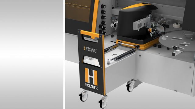 Ltronic laser edgebander - perfect invisible joints with laser edging